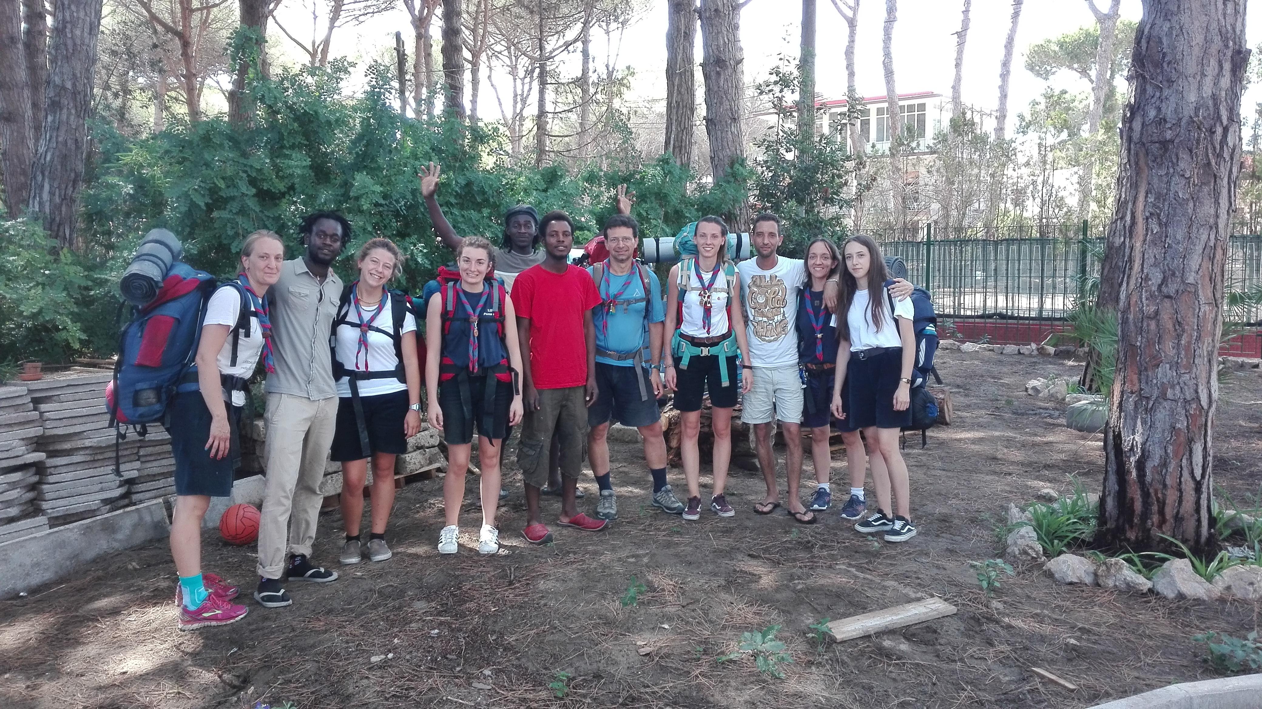 Clan Route dei migranti 2017-07